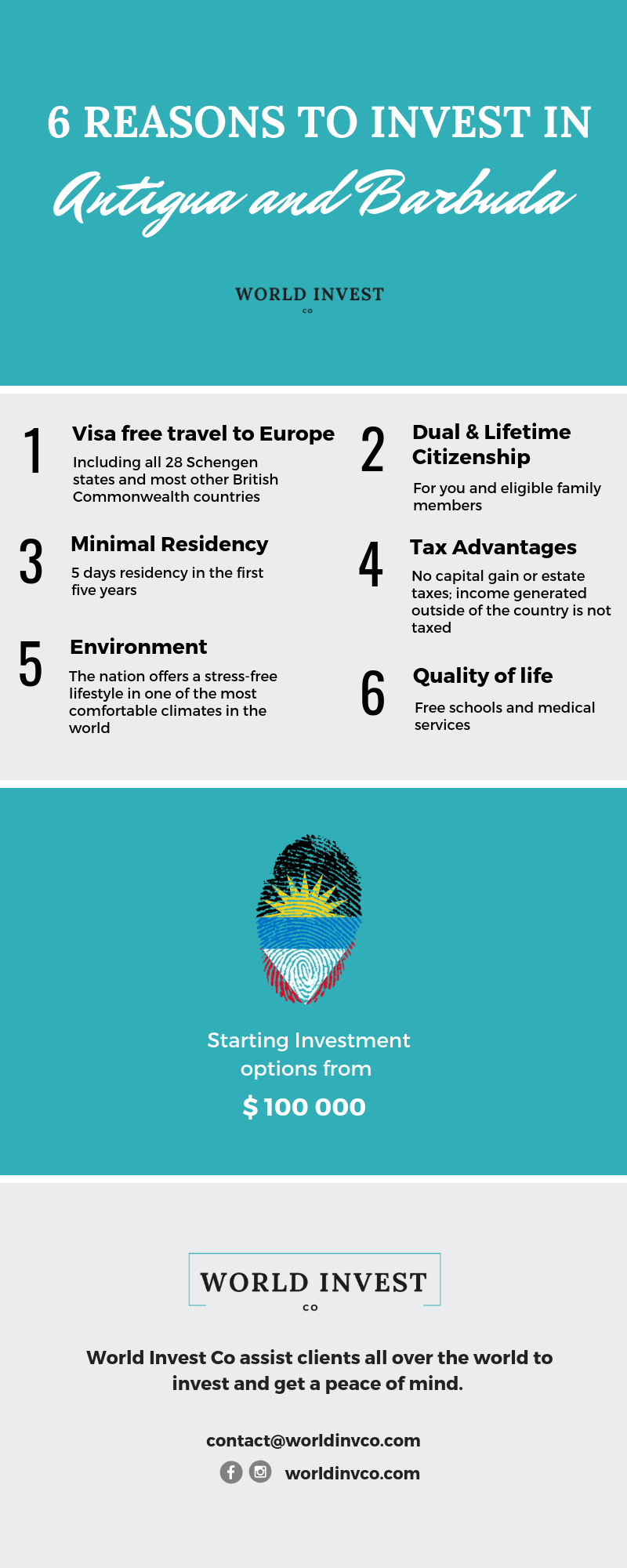 6 reasons why you should invest in Antigua and Barbuda